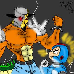 Megaman X VS Megamix by sbad040