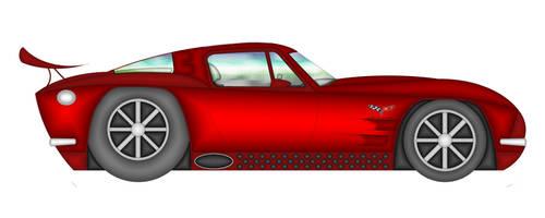 corvette stingray custom by bloodbath03