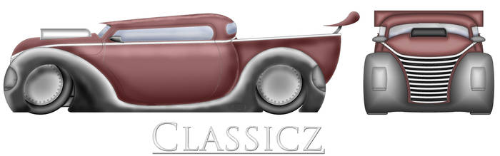 classicz side and front view