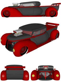 dream pickup truck in 3d