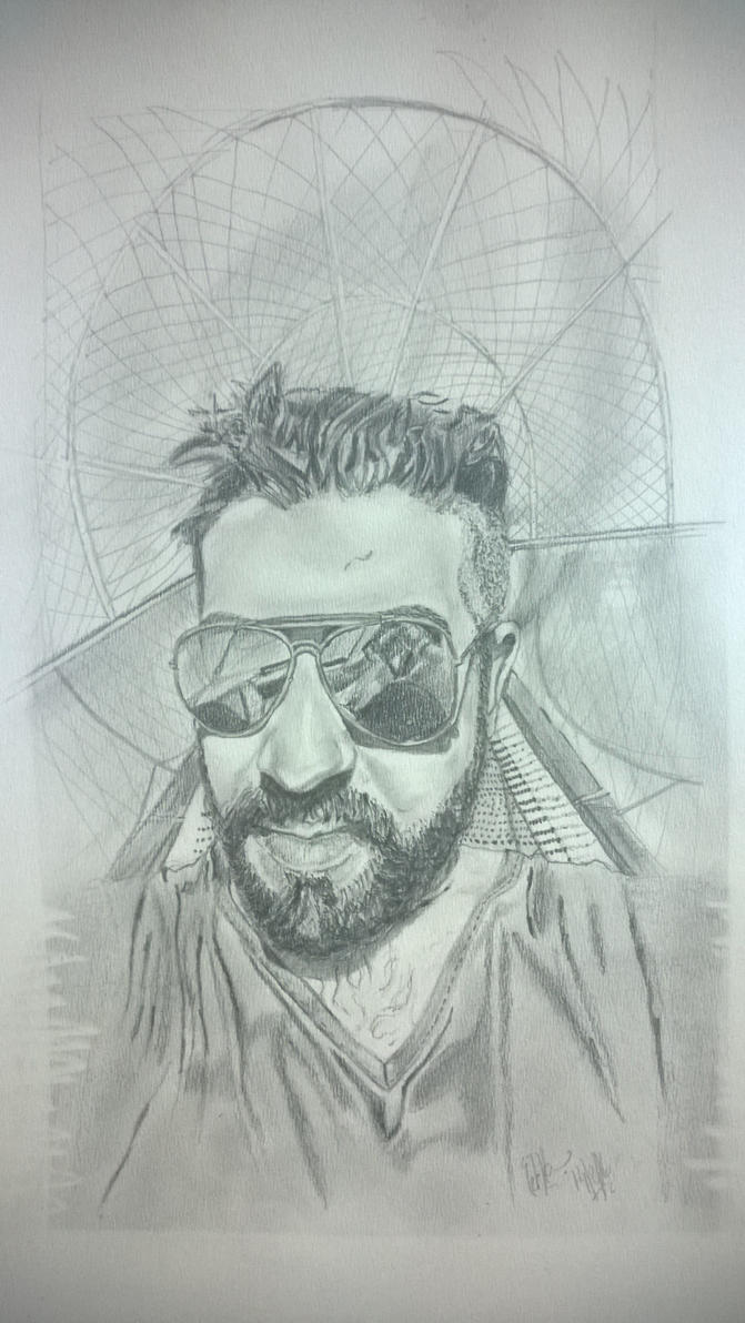 Commissioned Work: pencil on paper by Oog007