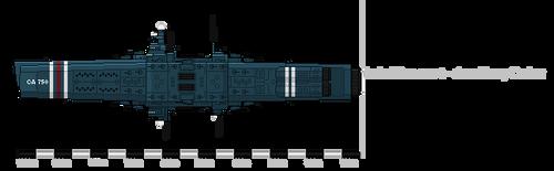 Heavy Cruiser by PunishedNixon