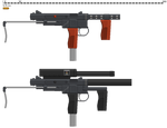 Stamped Steel Submachinegun by PunishedNixon