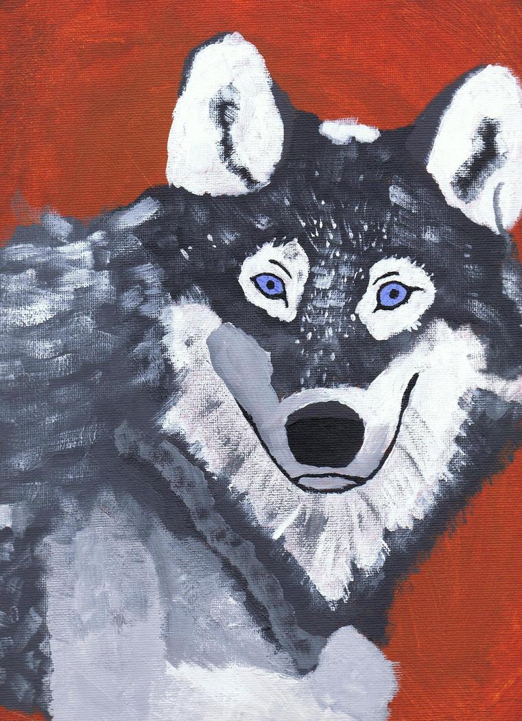 Wolf by kamikadzew