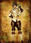 Steampunk Project - Dr. Hildaguard Metzger
