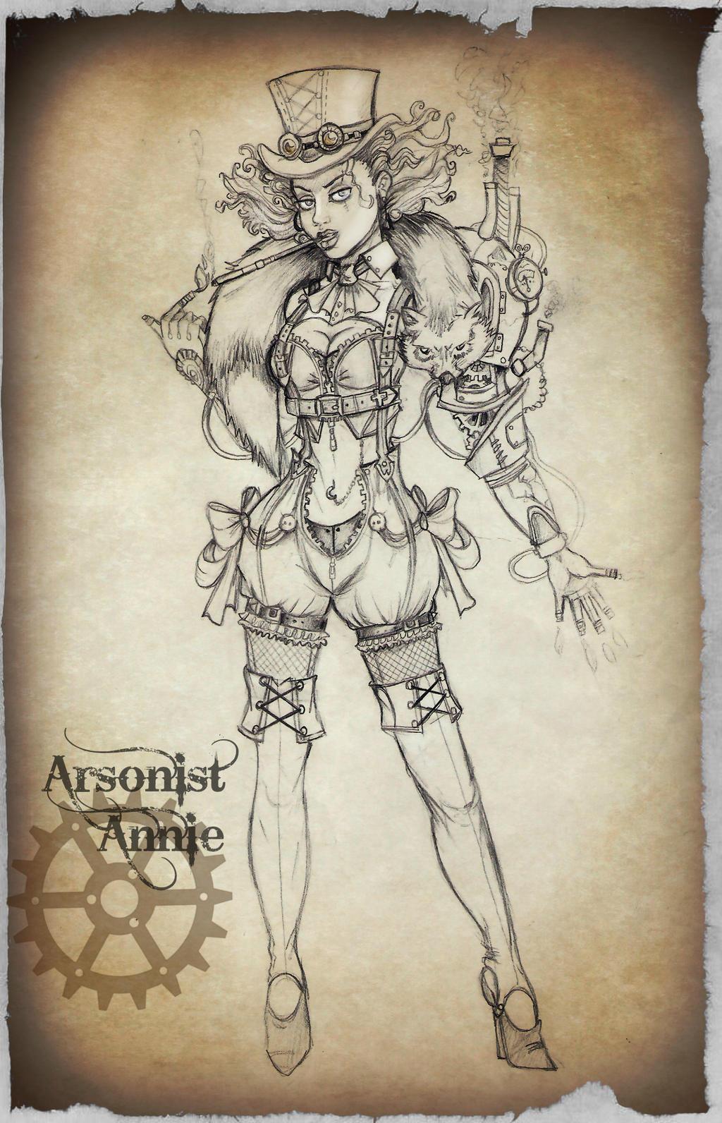 Steampunk Project - Arsonist Annie