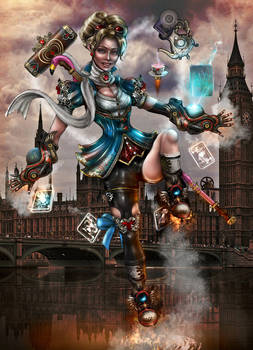 Steampunk Project - Page Commander Alice