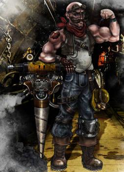 Steampunk Project - Barnabus (Digital)