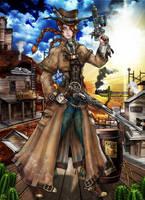 Steampunk Project - Cora J Clayton by MadAndPerplexed