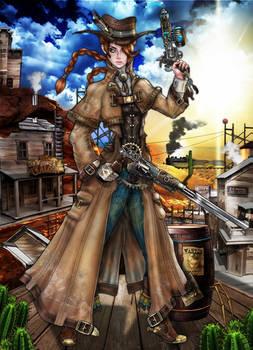 Steampunk Project - Cora J Clayton