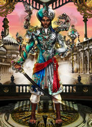 Steampunk Project- HRH Raja Aseem Nishad