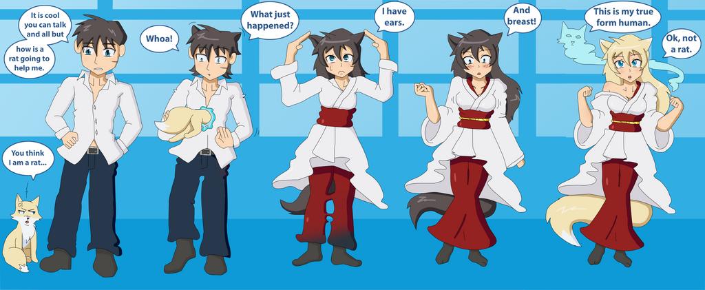 anime transgender sequence