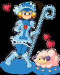 Moloko Megaman EXE (Commission)