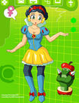 Appley Megaman EXE (Commission)
