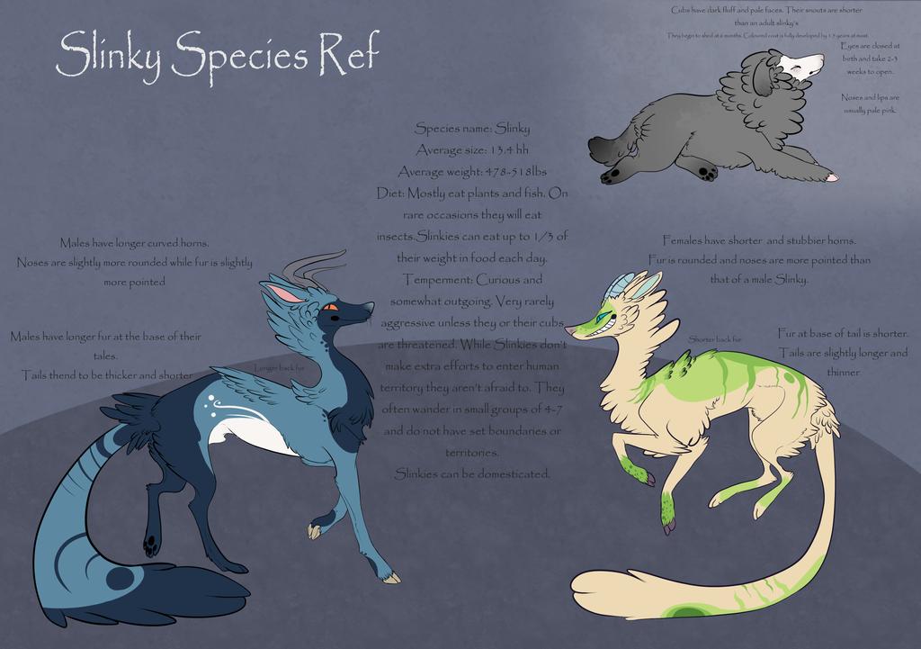 Slinky Species Ref by ChainsawTeaParty