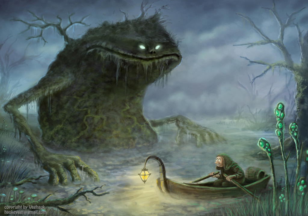 swamp-giant by Vaghauk