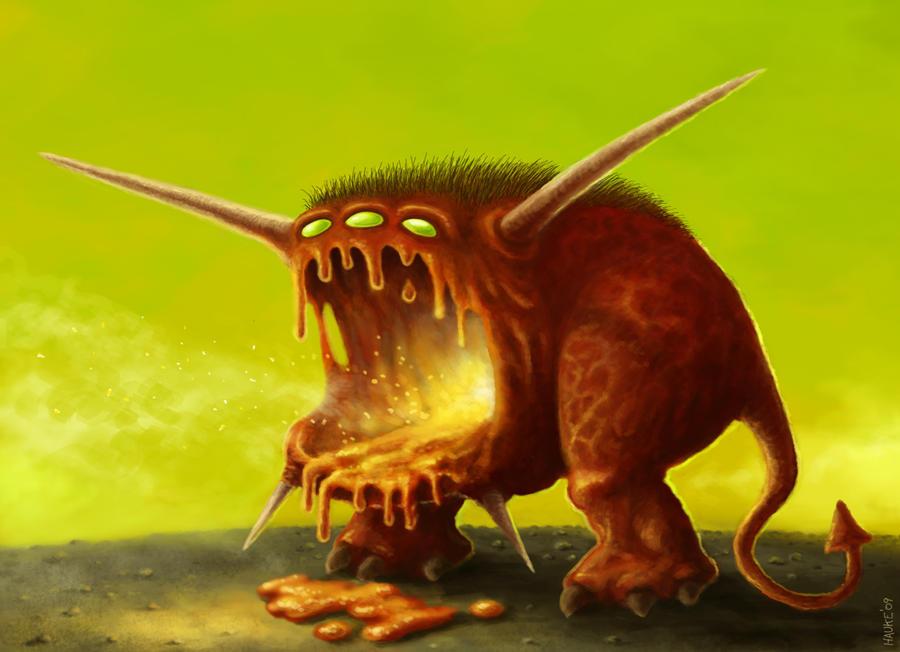 red hot doom by Vaghauk