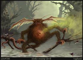 stinky swamp devil by Vaghauk
