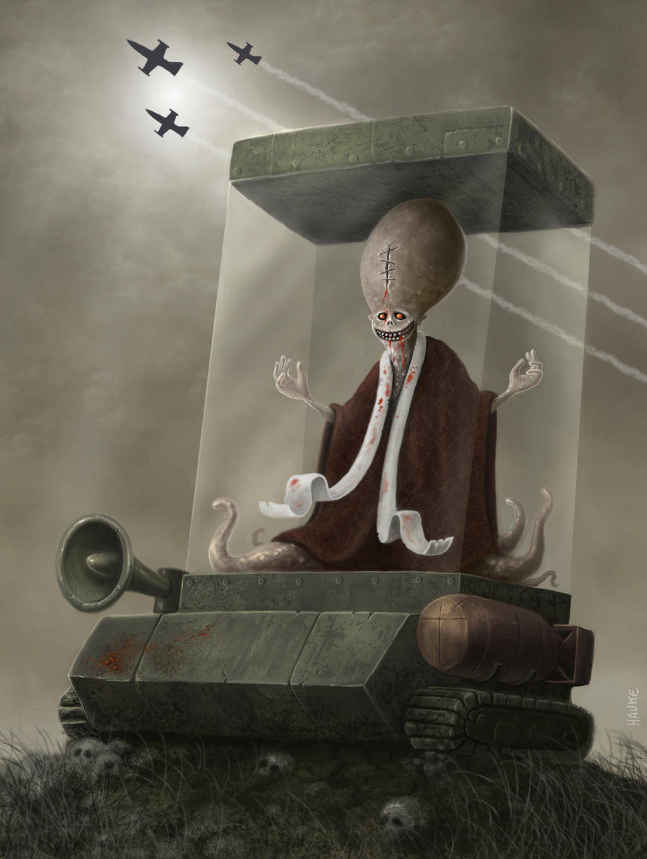 holy propaganda vehicle by Vaghauk