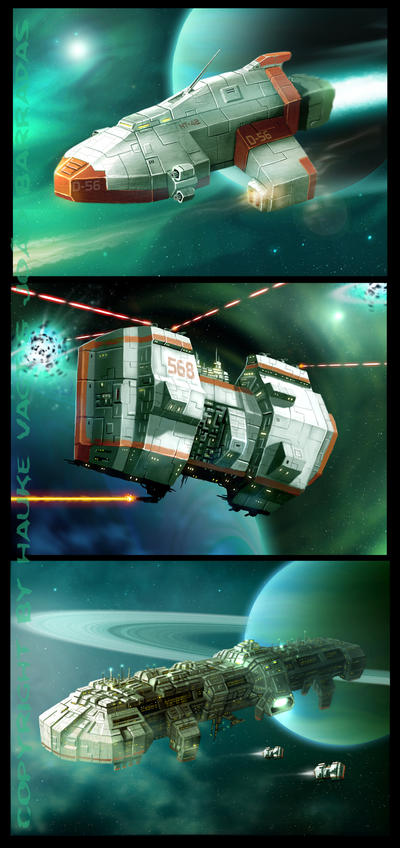 matter fleet ships 2 by Vaghauk