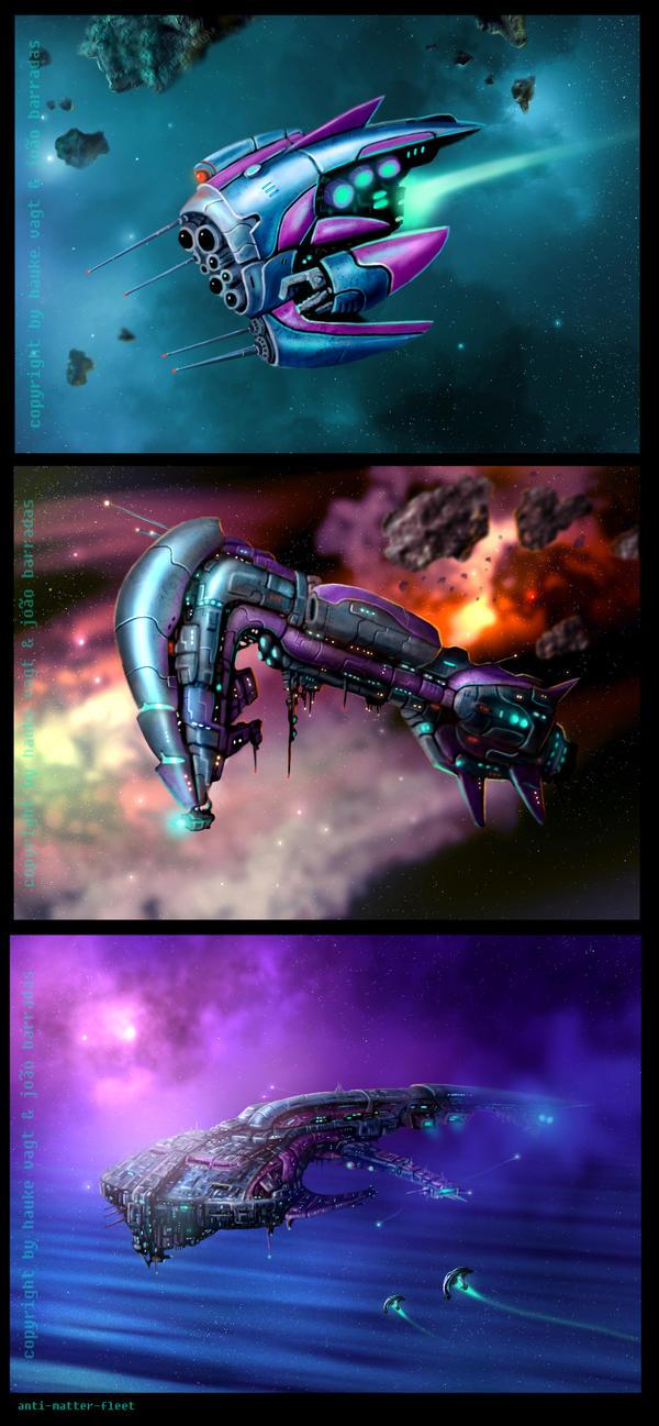 anti matter ships 2 by Vaghauk
