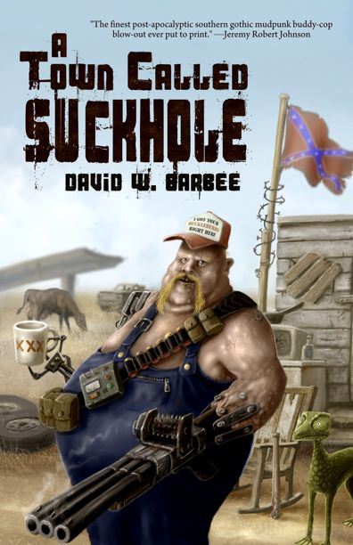 a town called suckhole book cover by Vaghauk