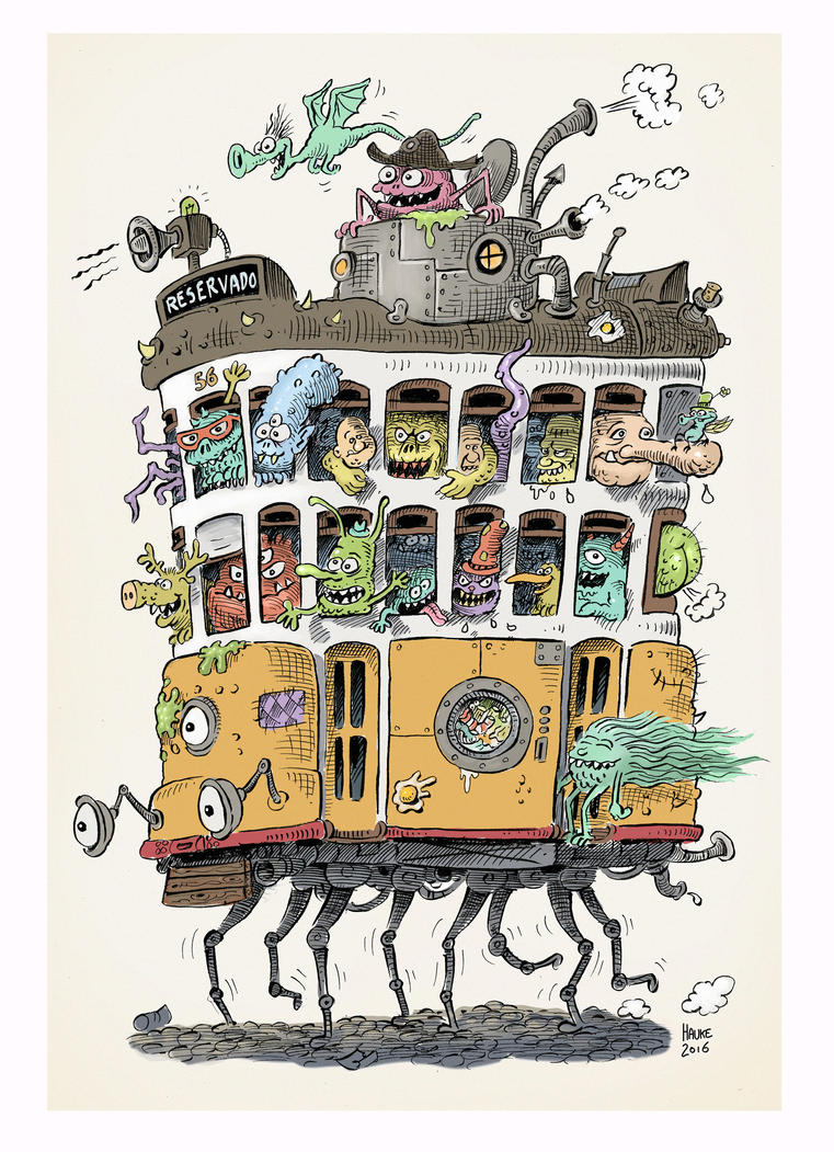 MonsterTram by Vaghauk