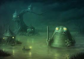Umbash King Of The Swamp by Vaghauk