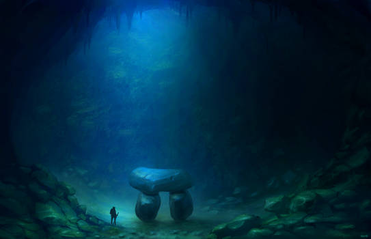 megalithic cave