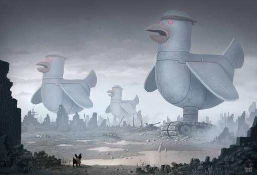 Big Bad Robo Birds