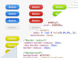 Web elements - jQuery and CSS3 by flugeiden