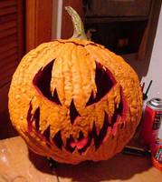 Pumpkin Head by pmpropmiester