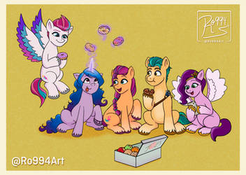 Donuts (MLP: A New Generation)