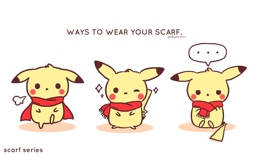 Pikachu: Scarf Series by pikaira