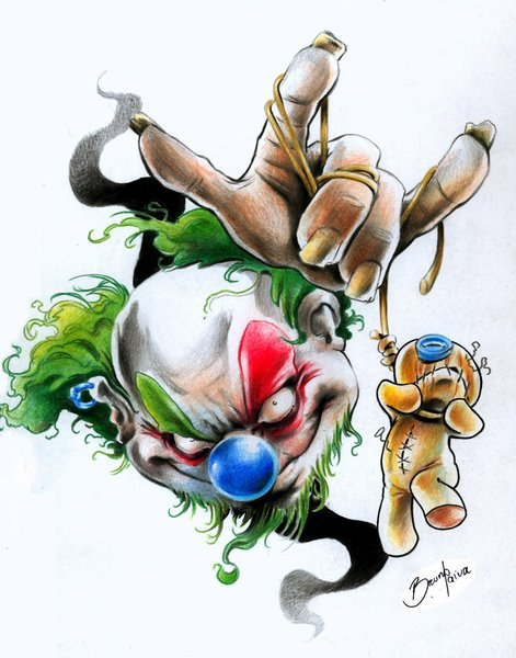 clown knows hurt by BrunofPaiva