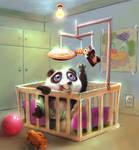 baby panda by BrunofPaiva