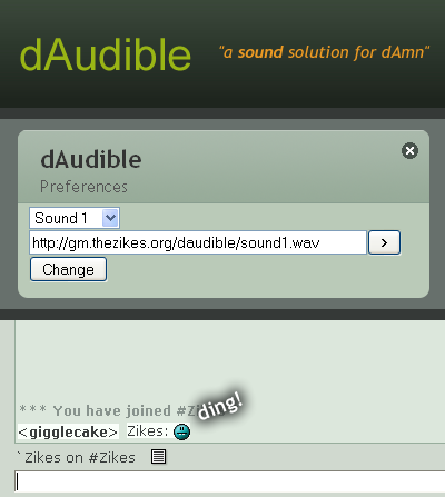 dAudible by zikes