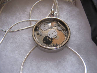 Steampunk Pendant by zikes