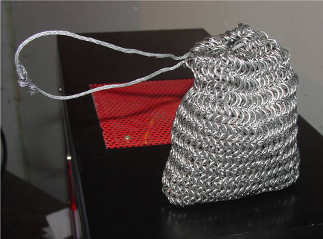 Chainmaille Pouch by zikes