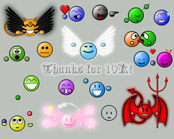 Thanks for 10K by zikes