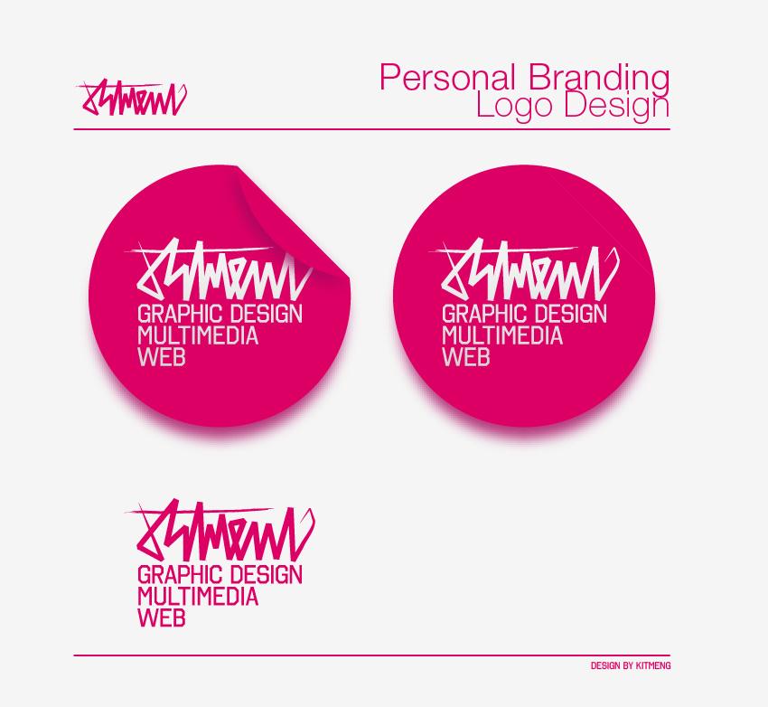 personal brandinglogo by kitmeng on deviantart