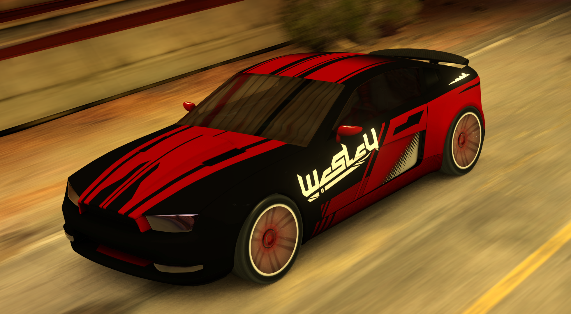 Wesley Personal Car by 0Aurora
