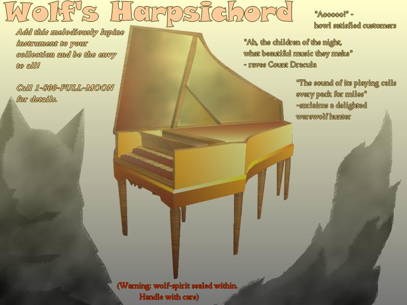 wolf's harpsichord by gentlespringrain