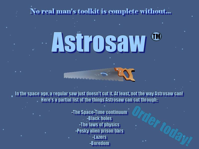 Astrosaw by gentlespringrain