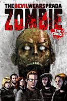 The Devil Wears Prada Zombie by kevinmellon