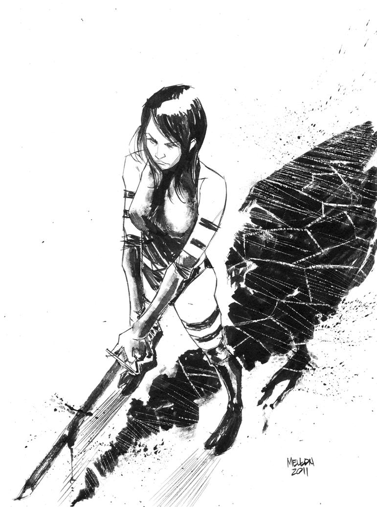 Psylocke by kevinmellon