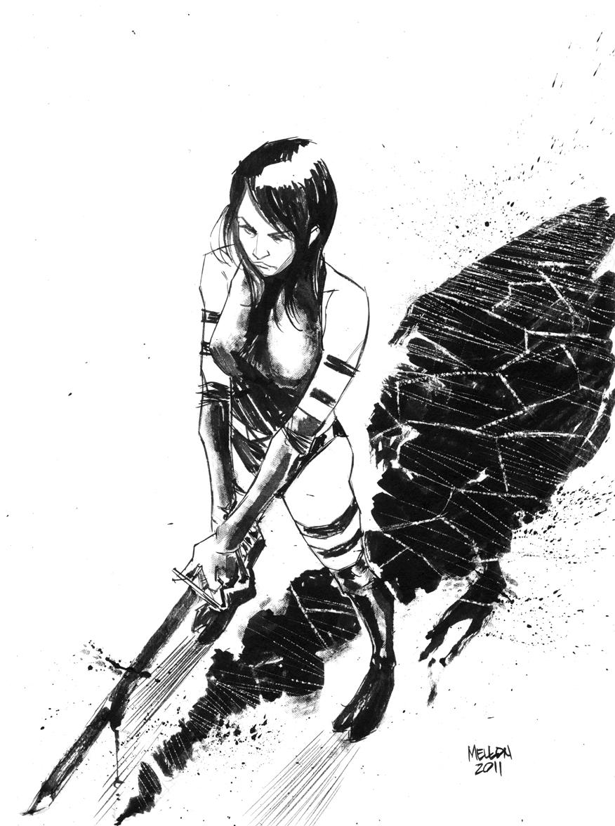 Psylocke by kevinmellon