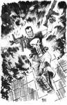 Heroes con commission - Punisher inks