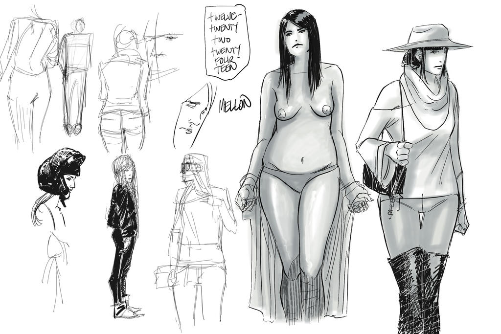 sketching 12-23-2014 by kevinmellon