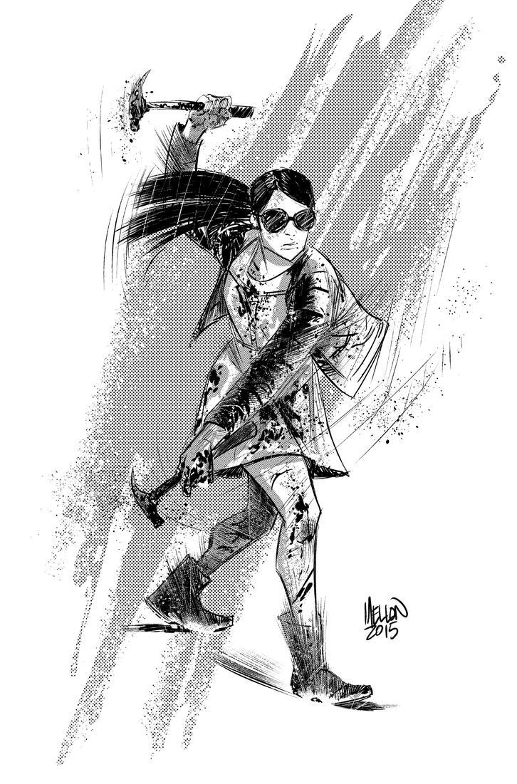 Hammer Girl by kevinmellon